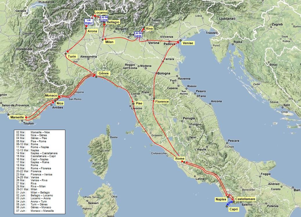 Carte Italie Corato.Carte Voyage Noces 1881